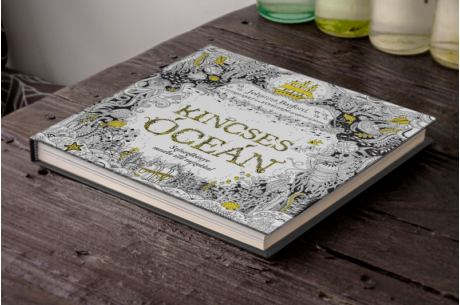 Johanna Basford: Kincses Óceán - Színezőkönyv mesébe illő rajzokkal