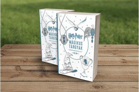 Harry Potter: Mágikus tárgyak színezőkönyv