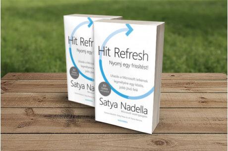 Satya Nadella: Hit Refresh - Nyomj egy frissítést!