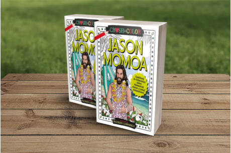 Crush&Color: Jason Momoa színező