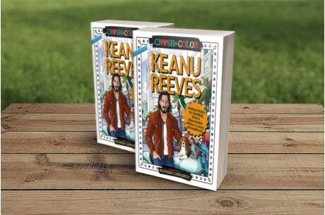 Crush&Color: Keanu Reeves színező