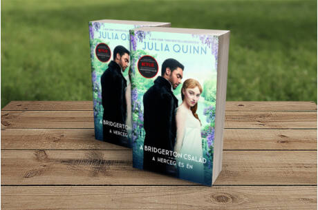 Julia Quinn: A herceg és én (filmes borítóval)